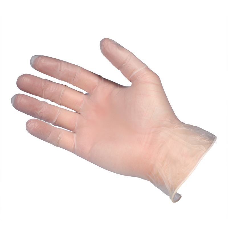 Vinyl Gloves - Clear - Powder Free - Small